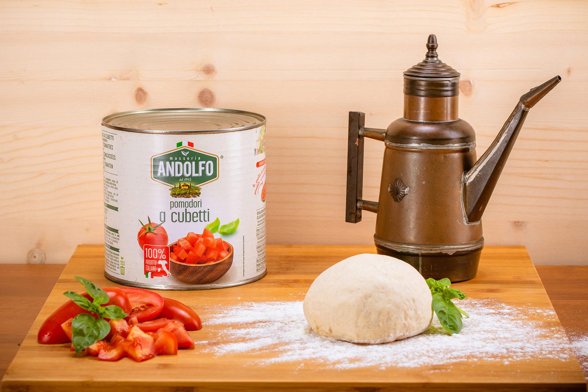 Masseria Andolfo - Food Service Pomodori a cubetti