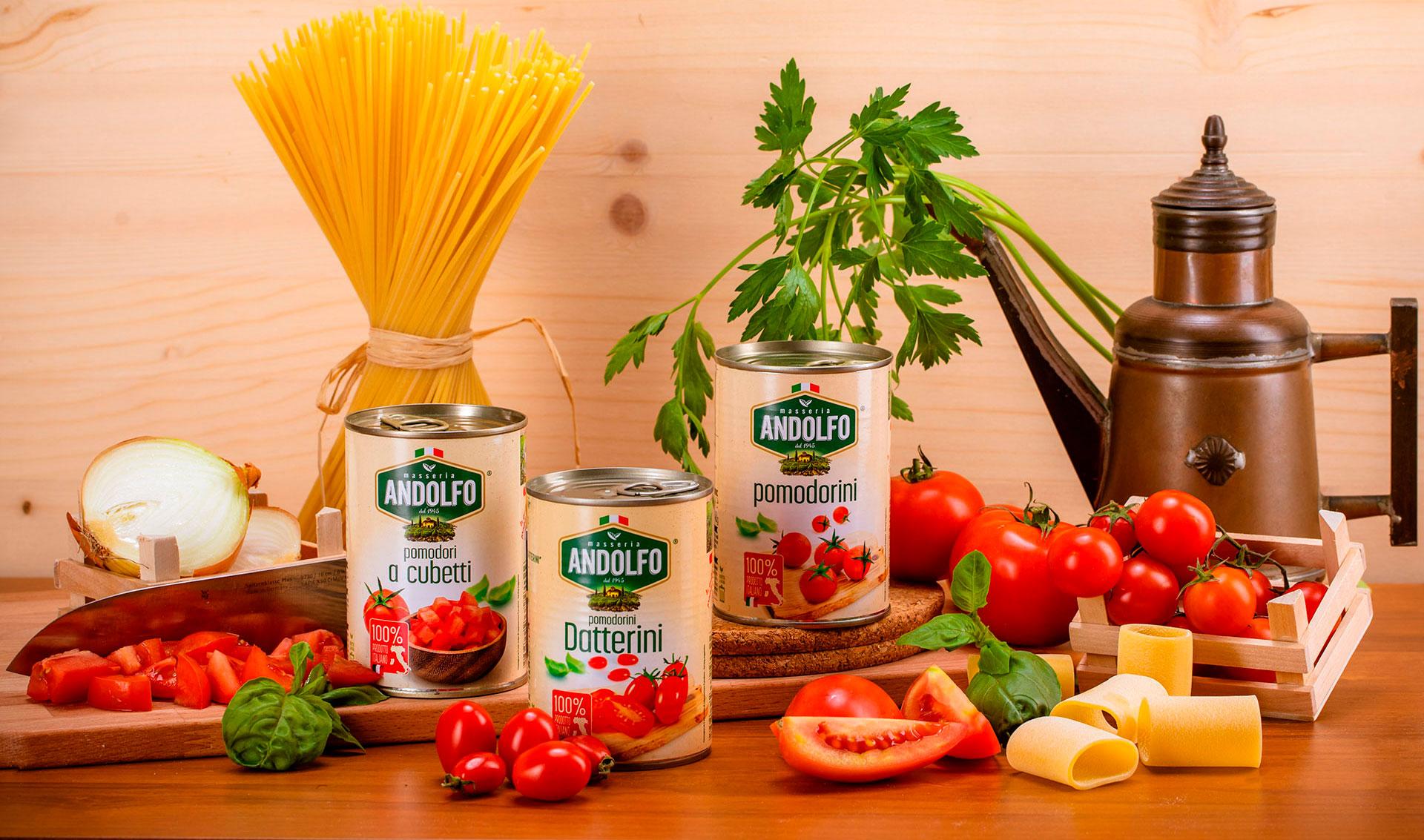 Masseria Andolfo - Datterini - Cubetti - Pomodorini