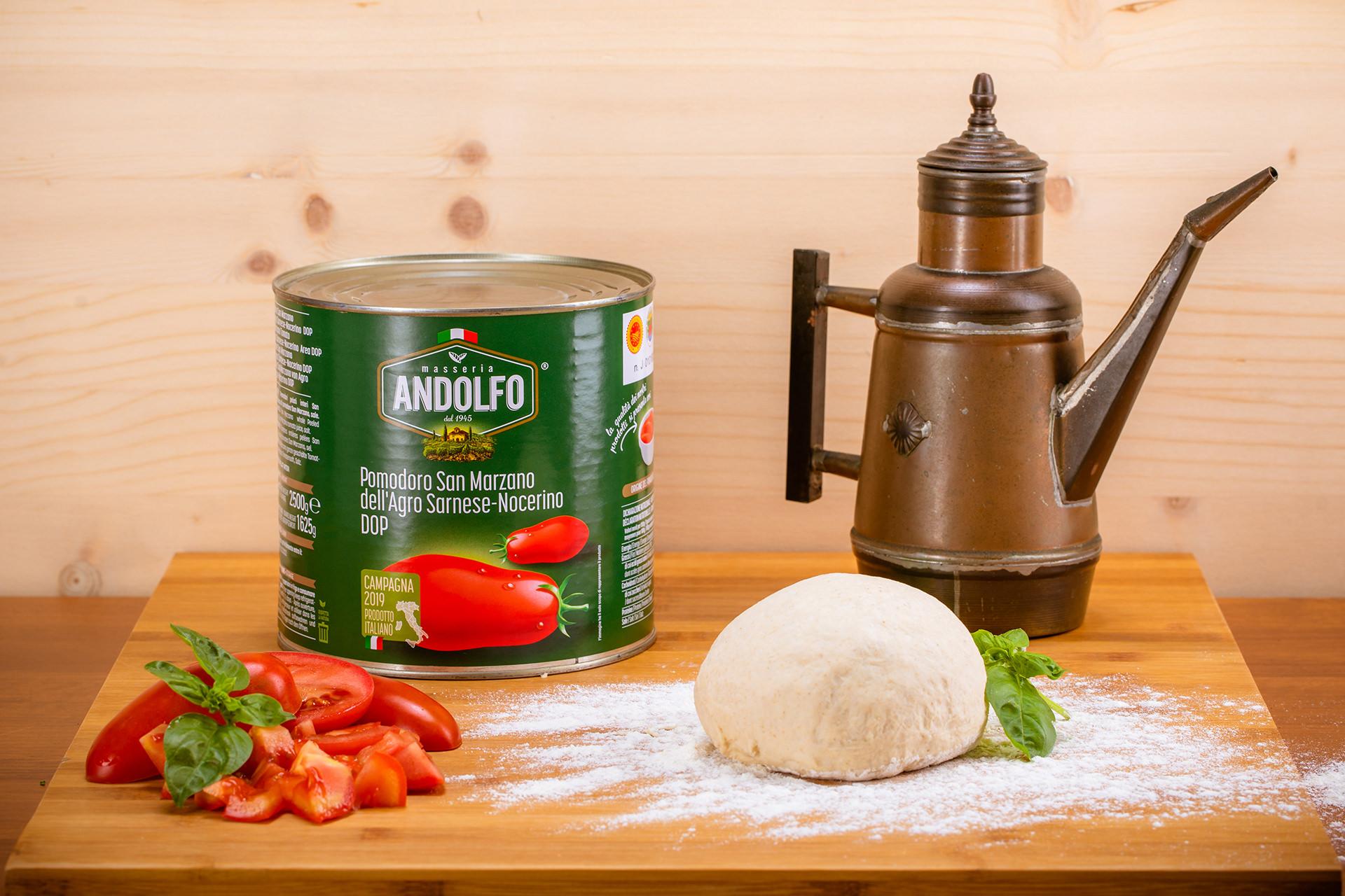 Masseria Andolfo - Food Service Pomodoro San Marzano D.O.P.