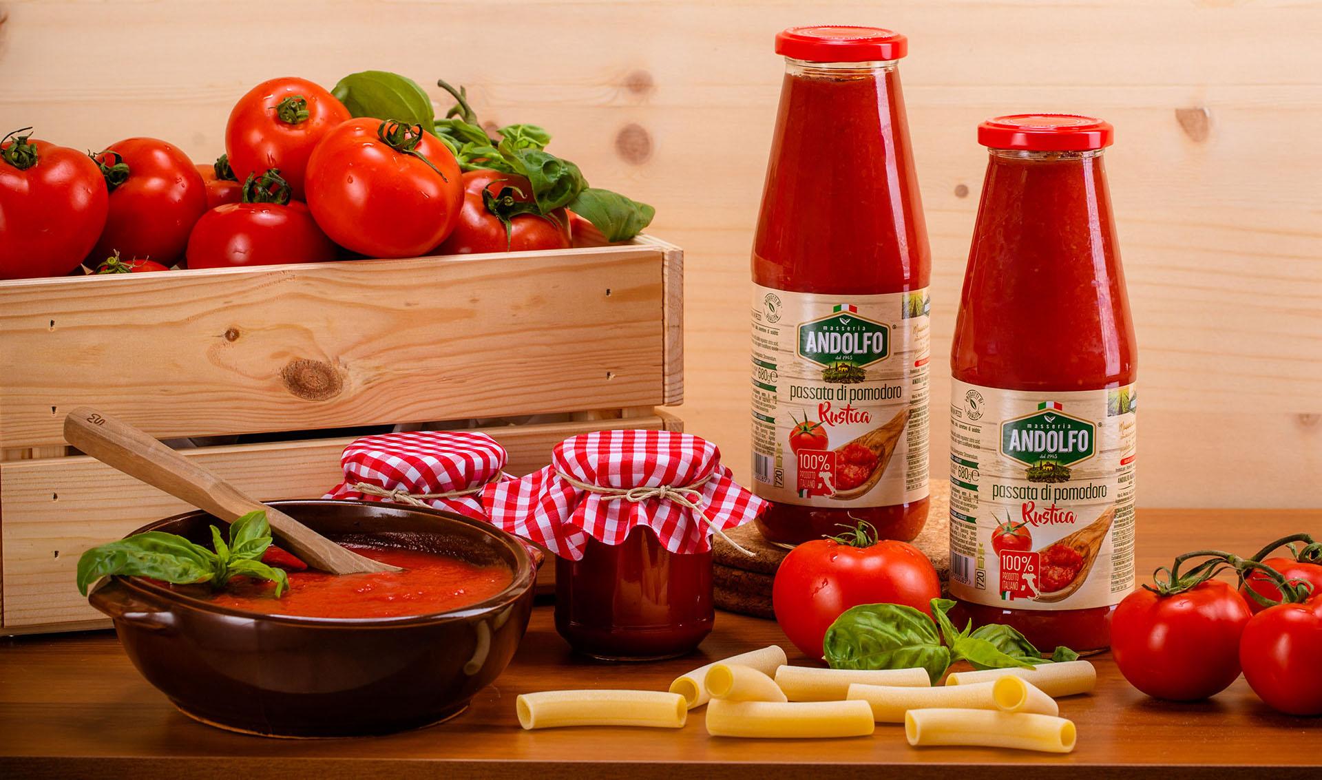Masseria Andolfo - Passata di pomodoro rustica