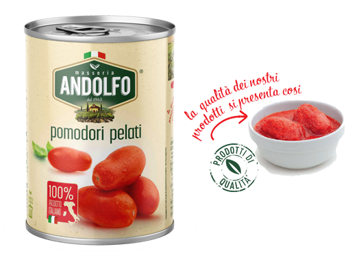 Masseria Andolfo - Pomodori Pelati