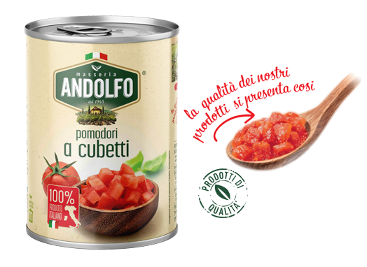 Masseria Andolfo - Pomodori a cubetti