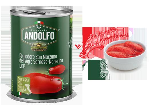 Masseria Andolfo - Pomodoro San Marzano D.O.P.